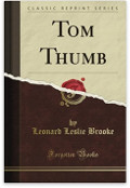 Cover of a Tom Thumb book by Leonard Leslie Brooke